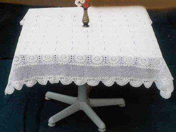 ... Crochet Tablecloth Square RHCSTC4