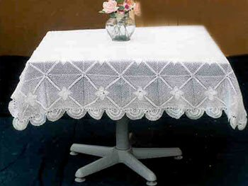 Crochet Tablecloth Square RHCSTC5