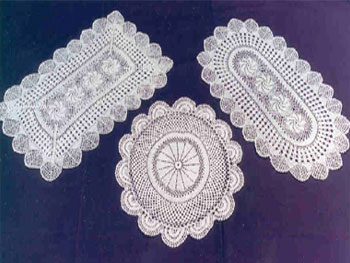 Free Crochet Patterns For Table Doilies : DOILY PATTERN RECTANGLE Free Patterns